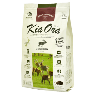 【PET】【送料無料】【Kia Ora】キアオラ ドッグフード ベニソン 2.7kg JAN/4963974020701【正規品】【W】