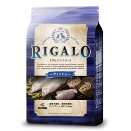 【増税による値上げはしていません】【送料無料】【RIGALO】リガロ グレインフリー フィッシュ5.8kg JAN:4562312013414【W】