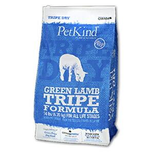 【PET】【送料無料】【ペットカインド】トライプドライ グリーンラムトライプ 6.35kg JAN:0882978711009【MA】