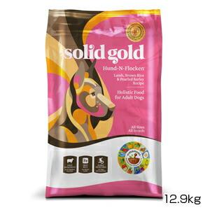 【PET】【送料無料】【正規品】ソリッドゴールド フントフラッケン(成犬 老犬用) 12.9kg (093766140288)【T】