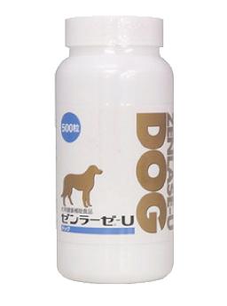 ●【本州限定】【送料無料】【代引・同梱不可】<日本全薬工業>ゼンラーゼ-U DOG(ドッグ) 500粒