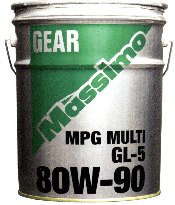 富士興産 マッシモ MPGマルチ 80W90 20Lペール缶【代引不可】