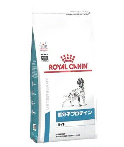 食物アレルギーによる皮膚疾患 消化器疾患で肥満ぎみの犬のために ロイヤルカナン 療法食 犬用 ドライ 爆売り 3kg 日本未発売 低分子プロテイン ライト