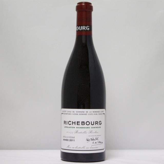 送料無料 2011 DRC リシュブール/Richebourg ドメーヌ・ド・ラ・ロマネコンティ ブルゴーニュ ギフト対応可