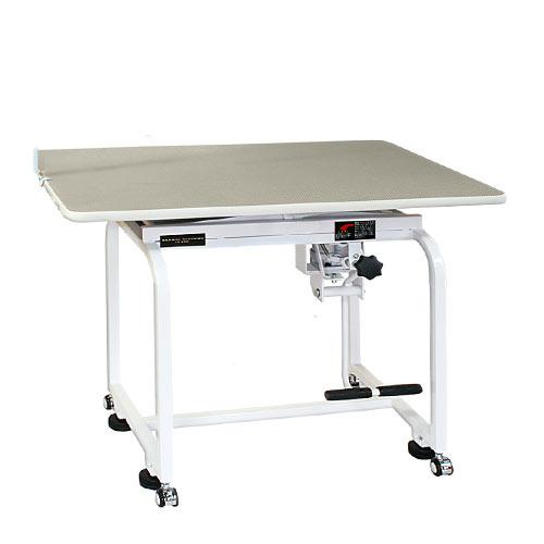 【送料込み・代引不可】油圧式トリミングテーブル X-900 天板グレー