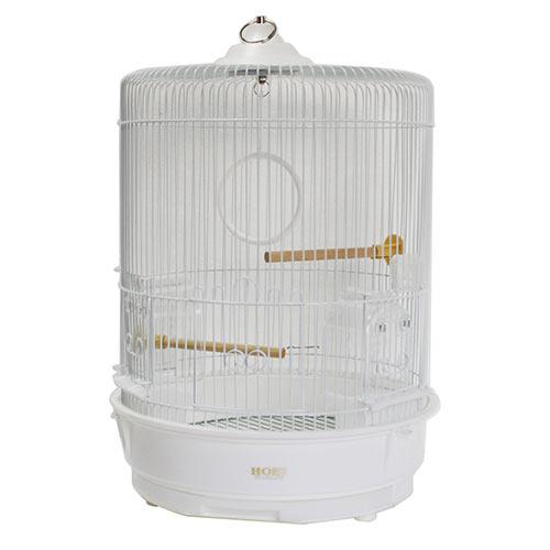 【代引不可】HOEI R-440LL-P 丸篭 (白色塗装金網&ホワイトボトム)