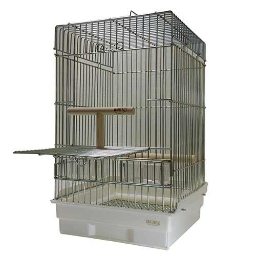 【代引不可】HOEI 35オウム (銀色メッキ金網)