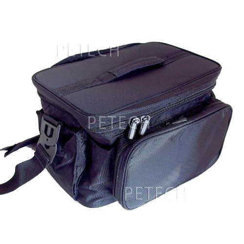 持ち運びにとっても便利 プロコスメケース ポーチ ブラック トリミングケース PB-9003 新色追加して再販 SALENEW大人気