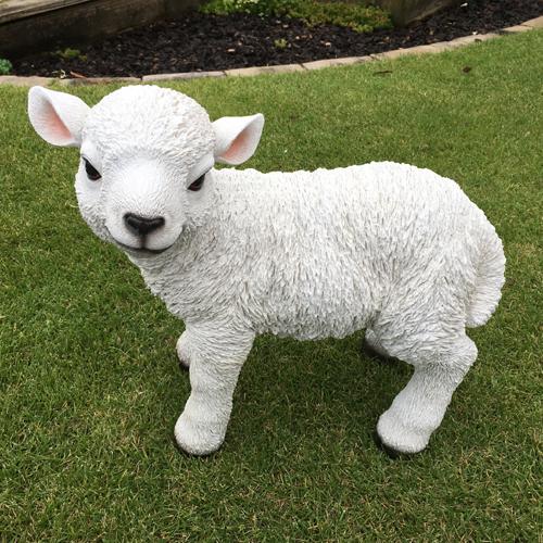 ■ガーデンオブジェ■庭の動物たちかわいい子羊