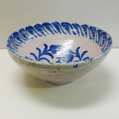 ■スペイン陶器■グラナダ絵ボール(L)Φ37cm