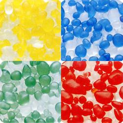 セール 登場から人気沸騰 ウォーターガーデンにも 国内在庫 ■ガラスボール■M ビー玉フロストグラスボール
