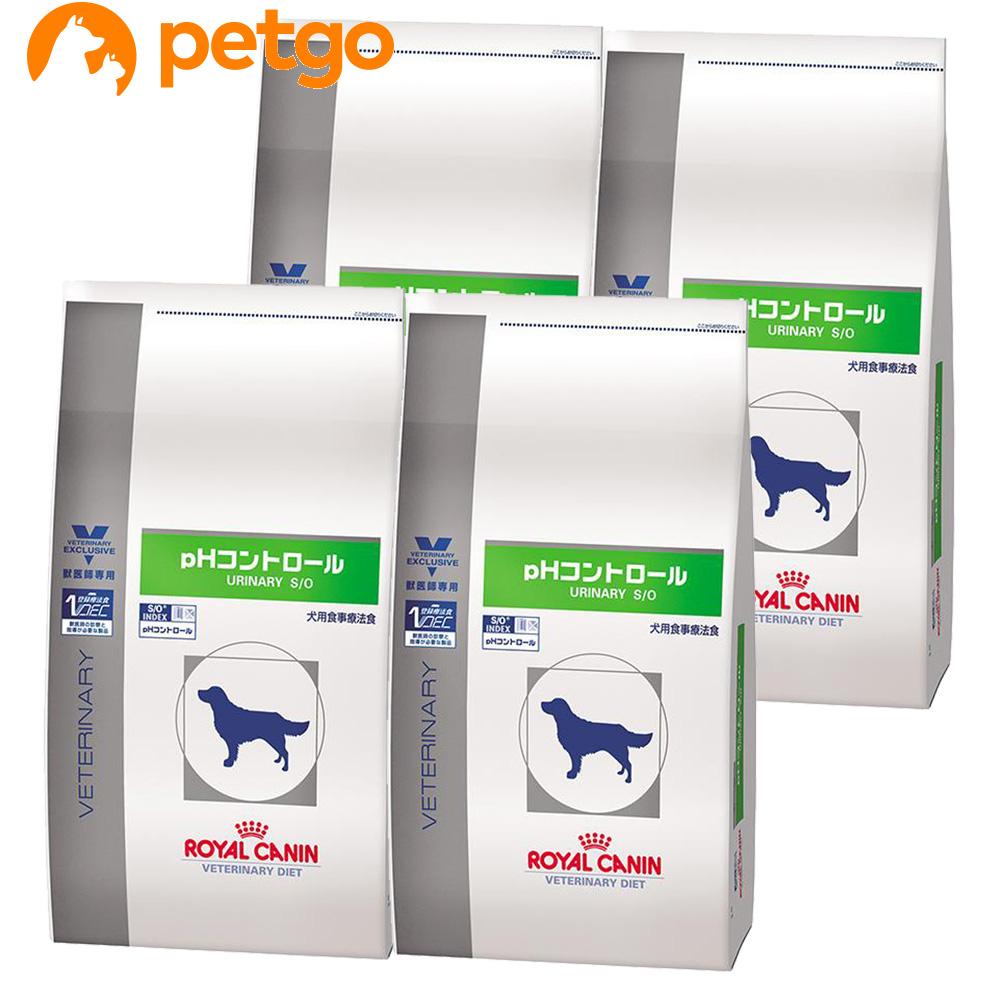 ロイヤルカナン 食事療法食 犬用 pHコントロール ドライ 3kg×4袋【ケース販売】【あす楽】