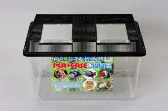 昆虫から小動物や水生物の飼育観察ケースとしてご使用下さい 新色追加して再販 飼育容器 スーパー特大プラケース 黒 500 × 360 300 6個 市販