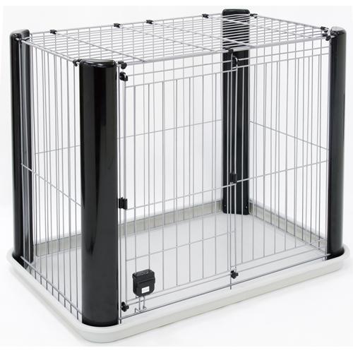 アドメイト ヴィラフォートサークル ゲージ ケージ スモール 屋根付き 犬用 サークル 室内 金属 犬 全犬種 Add.Mate