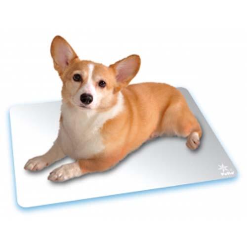 """どんな場所でも使いやすいベーシックなアルミシート 高純度アルミニウムを使用 99.6%以上 し キズの入りにくいアルマイト加工 軽量タイプで持ち運びにも便利 ペティオ クールアルミシート いよいよ人気ブランド 2L アルミボード ネコ Petio 超目玉 """"水も電気も使わず""""乗るだけでひんやり爽快 犬猫用 アルミニウム クールマット 猫 全犬種 イヌ 夏用"""