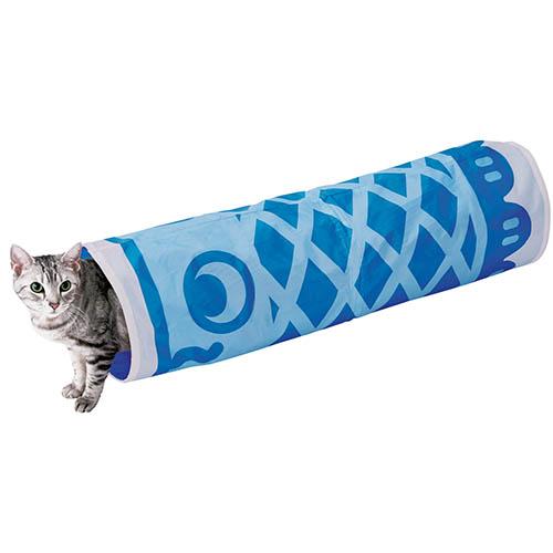 まとめて1個オトク【6個セット 】ペティオ ねこあつめ シャカシャカ仕様 鯉のぼりトンネル 猫用おもちゃ 一人遊び トンネルタイプ 猫 ネコ 短毛猫 長毛猫 ねこあつめの世界に仲間入り♪ Petio