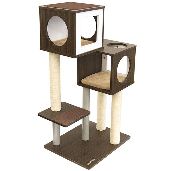 アドメイト カシェットキャットポール 2BOX キャットタワー 猫用 おもちゃ 一人遊び キャットタワー 送料無料 全猫種 ネコ ~8kg Add.Mate