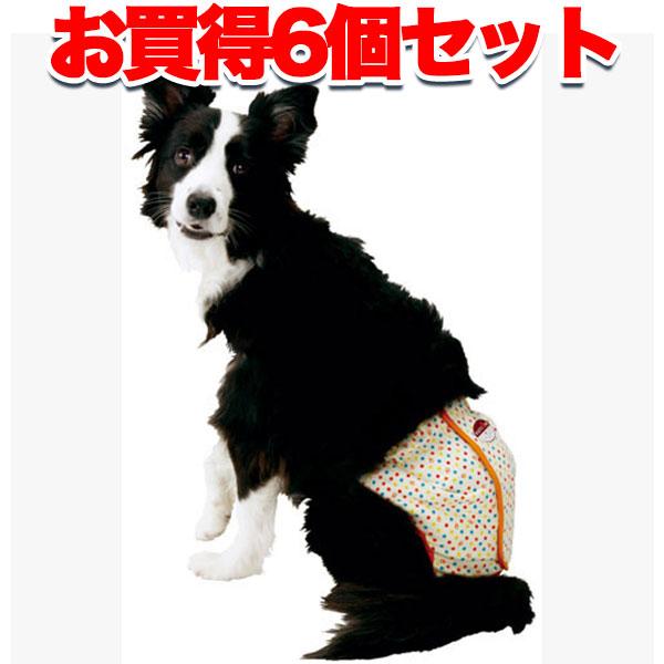 まとめて1個オトク【6個セット 送料無料】ペティオ zuttone ずっとね 老犬介護用 紙おむつカバー 2L ウェア アクセサリー 介護用品 犬 シニア期~介護期 中型犬 ブルテリア ボーダーコリー等 ~20kg Petio