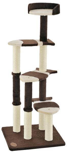 アドメイト 猫のおあそびポール お魚ファミリー ハイタイプ キャットタワー おもちゃ 一人遊び スリム 送料無料 全猫種 ネコ 短毛猫 長毛猫 ~10kg Add.Mate