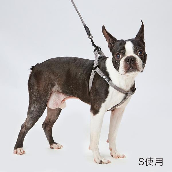 特価キャンペーン 毎日のお散歩に使いやすく 飽きがこないシンプルな犬具 ベーシックで落ち着いた色味 肌当たりの優しいテープ 蔵 ペティオ Porta ポルタ Petio シルバーグレー 胴輪 テープ S ハーネス 小型犬用