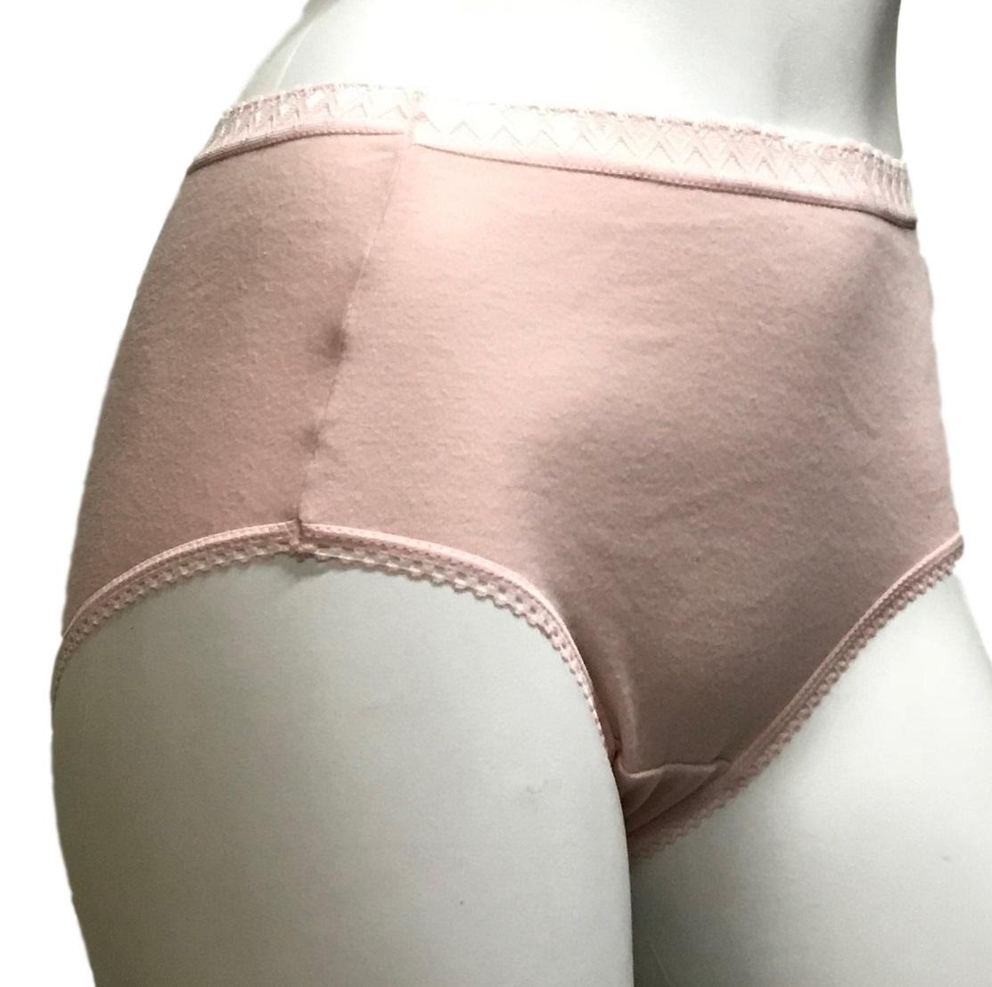 綿100%天然素材ショーツ♪M/L/LL/コットンショーツ/お腹すっぽり 綿100%スムス編み丈長ゆったり ショーツ 深ばき 色はお任せ!