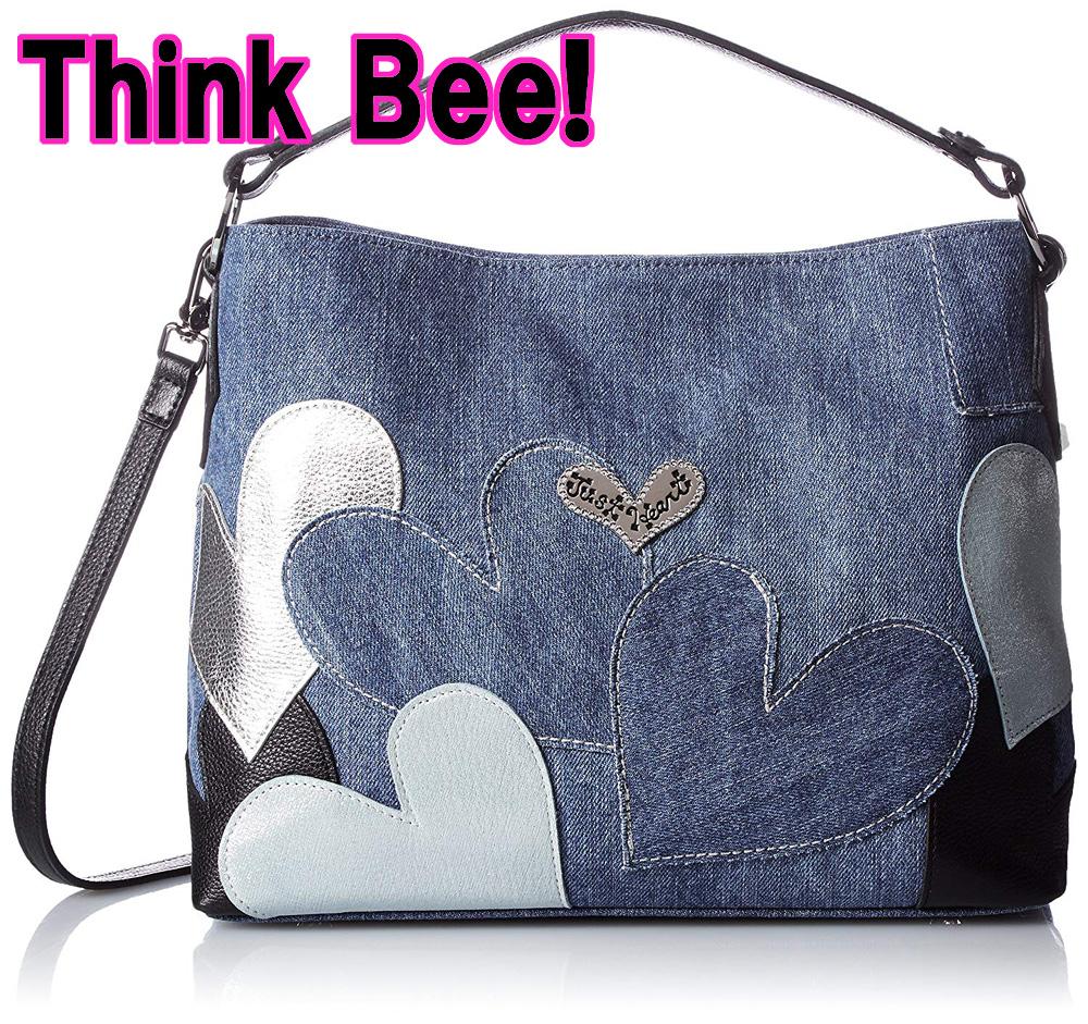 シンクビー バッグThink Bee![シンクビー!] 2ウェイショルダーバッグ スプマンテブルー A000608 ブルー(DM便不可)