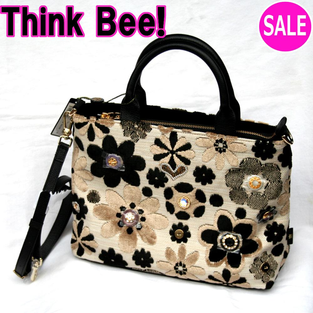シンクビー バッグ 【シンクビー Think Bee!】セレナーデ トートバッグ(2ウェイタイプ)(ベージュ) Think Bee! (シンクビー!)A001318