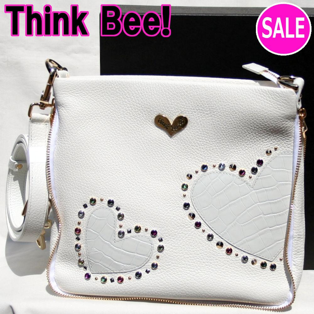 シンクビーバッグ ミラノ ショルダーバッグ Think Bee! (シンクビー!)ホワイト A002248