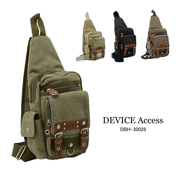 3a248d51ac One shoulder body bag diagonally over body back DEVICE Access Shoulder bag  (tp-DBH-30028) tilted seat men s women s commuter school students present  casual ...