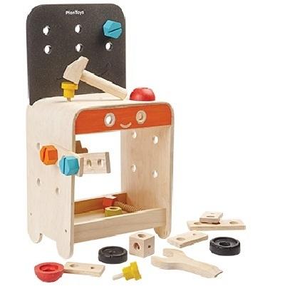 ワークベンチ 大工さんセット 5541 3歳以上 プラントイ Plantoys 木のおもちゃ ベビー キッズ 子供 知育玩具