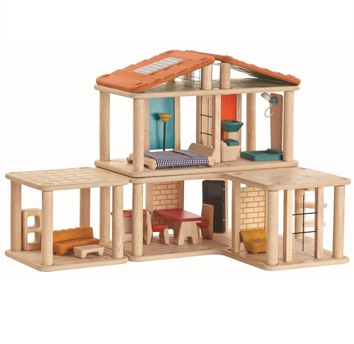 クリエイティブプレイハウス 木のおもちゃ 7610 プラントイ Plantoys 3歳以上 ドールハウス ベビー キッズ 子供 知育玩具