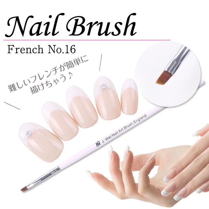 petitprice | Rakuten Global Market: SINA nail brush for French [nail ...