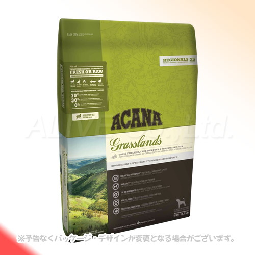 ACANA グラスランドドッグ 6kg [アカナファミリージャパン]【送料無料(一部地域を除く)】[P2]
