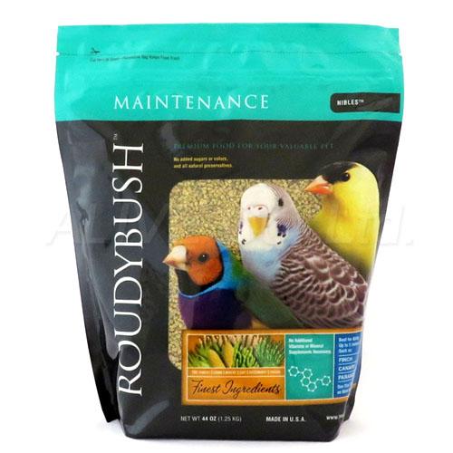 繁殖をしない時期の成鳥の主食として栄養バランスのとれた無着色ペレット ポイント2倍中 ラウディブッシュ デイリーメンテナンス ニブルズ 入手困難 1.25kg P2 合計8 ROUDYBUSH 800円以上で送料無料 正規激安 一部地域を除く