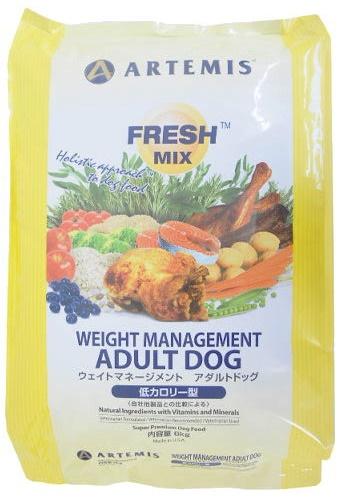 【送料無料】【正規品】アーテミス フレッシュミックス ウェイトマネージメント アダルトドッグ  13.6kg