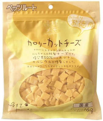 ペッツルート カロリーカットチーズ お徳用 中古 チーズに目がない愛犬に 160g 減塩タイプ ついに再販開始 ☆4984937682248