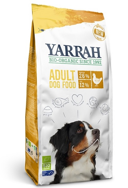YARRAH(ヤラー) 100%オーガニックドッグフード チキン 5kg 正規品 【】:ペットランド熊取