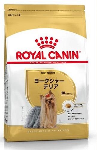 ロイヤルカナン ヨークシャーテリア 成犬・高齢犬用 7.5kg【送料無料】