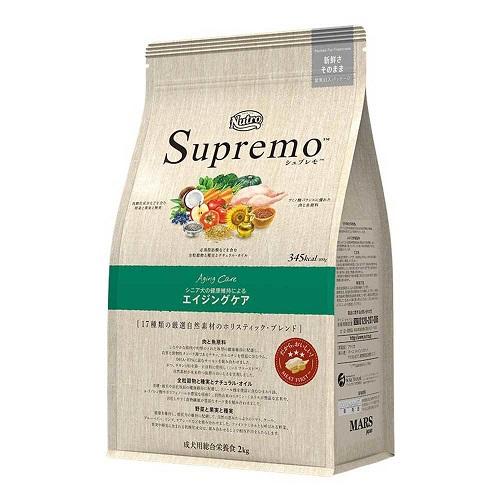 【正規品】ニュートロ シュプレモ エイジングケア犬用 4kg 【送料無料】