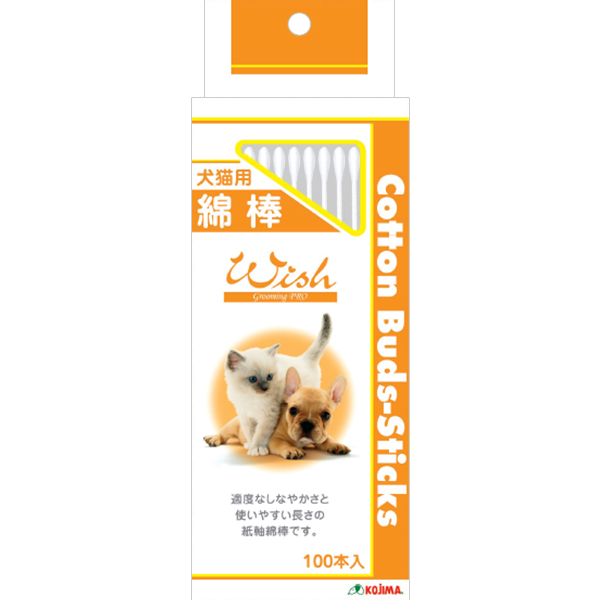 SEAL限定商品 コジマペット犬猫用綿棒 100本入 年中無休