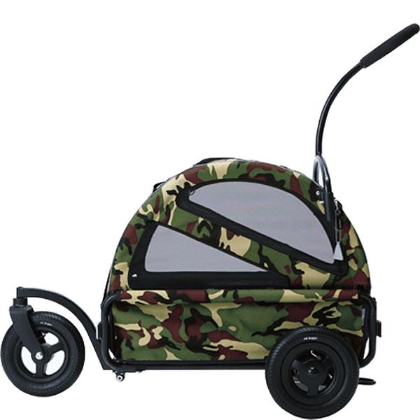 【正規品】エアバギー ~ドッグカート トゥインクル カモフラージュ[Air Buggy for Dog~TWINKLE]