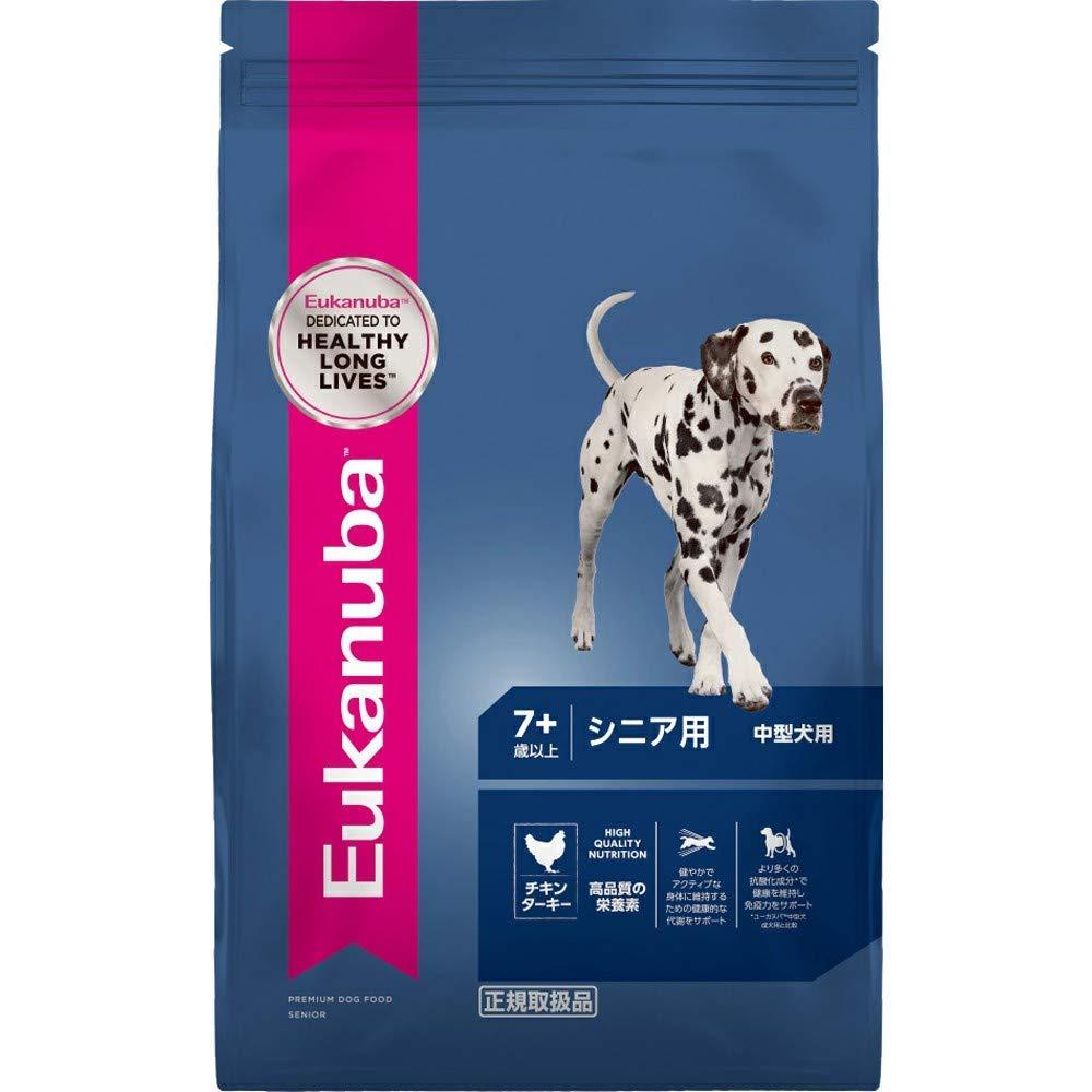 ユーカヌバ ミディアム シニア 中型犬用 7歳以上 2.7kg