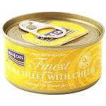 フィッシュ4キャット ツナ&チーズ TUNA FILLET WITH CHEESE 70g 【キャットフード】【フィッシュ4】【ウェットフード】