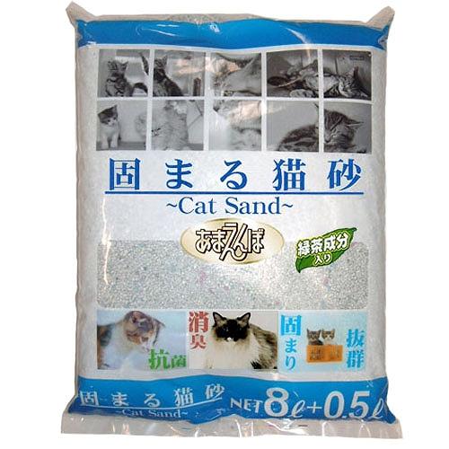 【ペットプロ】あまえんぼ 固まる猫砂 8.5L