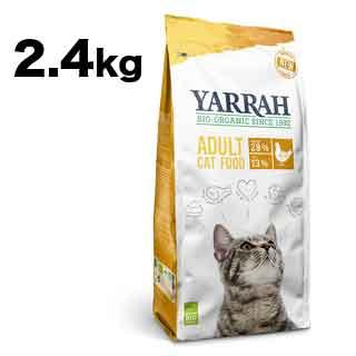 【ヤラー】キャットフード チキン 2.4kg