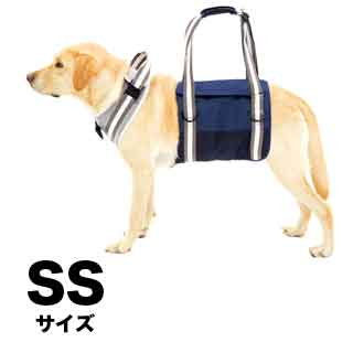 【with】歩行補助ハーネス LaLaWalk大型犬用 トラッド【SS】