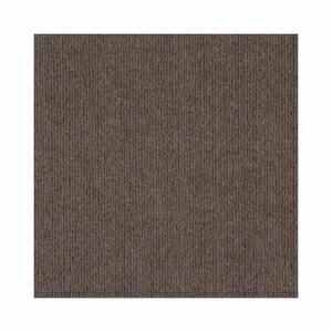 【送料無料】【ツジトミ】コード柄 吸着カーペット ブラウン(LS576-45) 45×45cm 1ケース(104枚入) ※代引き不可商品※【LI】