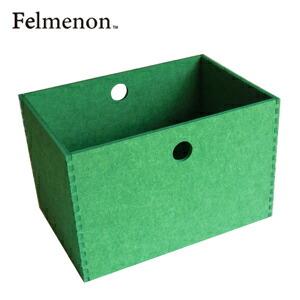【送料無料】【フェルメノン】HOZO BOX(L) グリーン 5個セット 【フェルト 収納 雑貨】【代引不可】【LI】