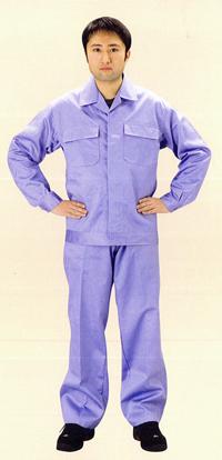 【送料無料】【防炎綿製品】綿プロバン 防炎服【ズボン】NB-721 サイズ:L ※代引き不可※【NB】