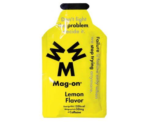 【増税による値上げはしていません】マグオン エナジージェル(レモンフレーバー) Mag-on(41g×72個) 水溶性マグネシウム サプリメント 必須ミネラル トレーニング 持久走 4589941520120【HS】